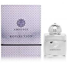 Amouage Reflection е женски парфюм, с нежен цветен аромат, чувствена сърцевина и ориенталска основа