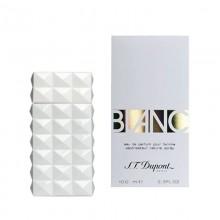 Dupont Blanc е женски парфюм със свеж и изискан цветен аромат, плодови и ориенталски нотки и с ухание на бели цветя