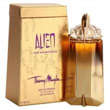 Thierry Mugler Alien Oud Majestueux е луксозен женски парфюм с чувствен и пикантен, ориенталски цветен аромат и дървесни нотки