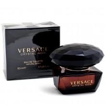 Versace Crystal Noir е луксозен женски парфюм със съблазнителен и опияняващ ориенталски цветен аромат
