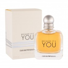 Armani Because It's You е женски парфюм с нежен и чувствен плодово-цветен аромат и деликатно ухание
