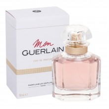 Guerlain Mon Guerlain е женски парфюм с нежен, цветен ориенталски аромат и свежо, деликатно ухание