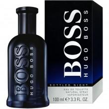 Hugo Boss Bottled Night е мъжки парфюм със съблазнителен и енергизиращ дървесен аромат с цветни нотки и подправки