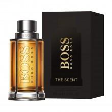 Hugo Boss The Scent е мъжки парфюм със съблазнителен и чувствен дървесен аромат, с пикантни и плодови нотки