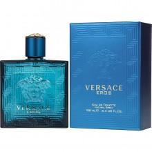 Versace Eros е луксозен мъжки парфюм с чувствен, съблазнителен и свеж дървесен аромат, ориенталски и плодови нотки