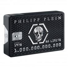 Philipp Plein No Limit$ е мъжки парфюм със съблазнителен и чувствен, дървесно-ориенталски аромат с пикантни подправки и ухание на шоколад и кожа