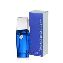 Mercedes-Benz Club Blue е мъжки парфюм със свеж дървесен аромат и ухание на пикантни подправки и цитруси