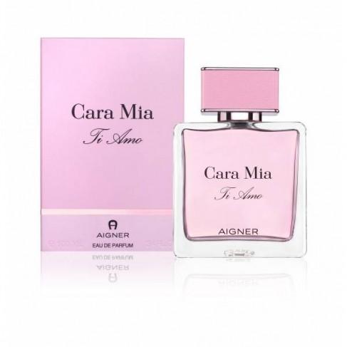Aigner Cara Mia ti Amo е женски парфюм с цветно-дървесен аромат съчетан с нежни плодови акорди