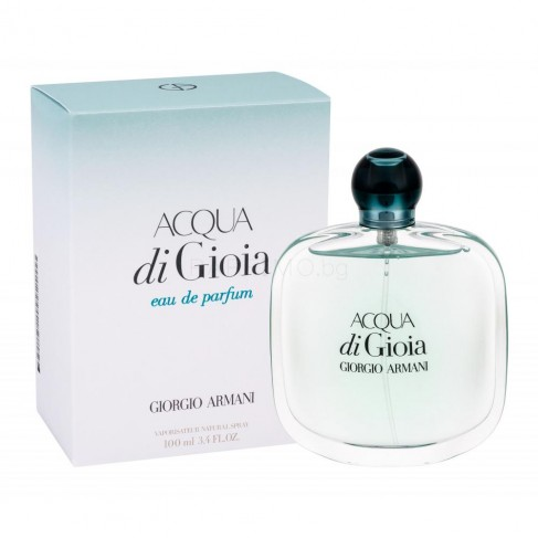 Armani Acqua di Gioia е женски парфюм с нежно, плодово-цветно ухание с усещане за летен морски бриз и красива природа
