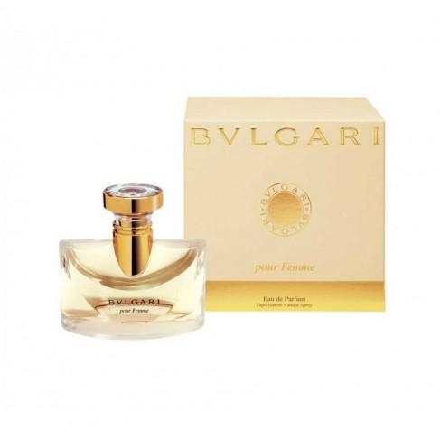 Bvlgary Pour Femme е женски парфюм с класически цветен аромат,  плодов привкус и ориенталски тонове