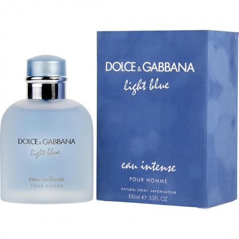 Dolce&Gabbana Light Blue Intense е женски парфюм с интензивен и свеж аромат на цветя, плодове и мускусни нотки