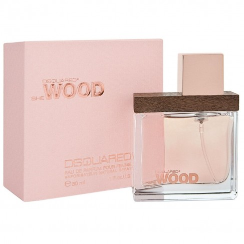 Dsquared2 She Wood е женски парфюм със свеж и деликатен цветен аромат, дървесни нотки и съблазнително, чувствено ухание