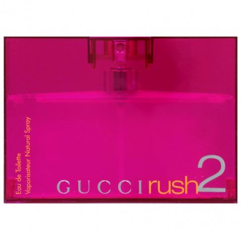 Gucci Rush 2 е женски парфюм със свеж и богат цветен състав и ориенталски нотки и с чувствено и стилно ухание