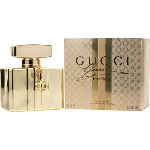 Gucci Premiere е луксозен женски парфюм с чувствен аромат на уханни цветя и мускусно-дървесна основа