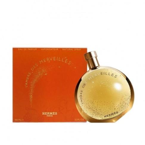 Hermes L`Ambre des Merveilles е женски парфюм с нежен и елегантен ориенталски цветен аромат със съблазнително ухание