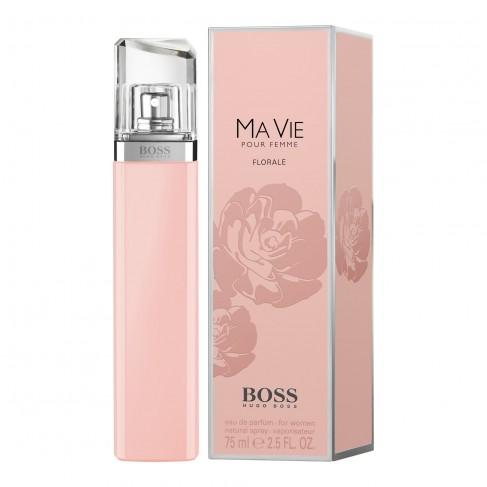 Hugo Boss Ma Vie Florale е елегантен женски парфюм, с богат цветен аромат, ориенталски нотки и чувствено ухание