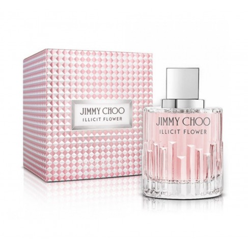 Jimmy Choo Illicit Flower е женски парфюм с омайващ аромат от цветя, плодове и ориенталски нотки и с чувствено ухание