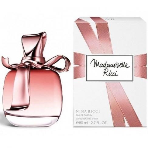 Nina Ricci Mademoiselle Ricci е женски парфюм с нежен цветен ориенталски аромат и плодови нотки за стилни, елегантни млади дами