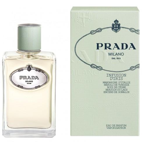 Prada Infusion Iris е женски парфюм с уникален ориенталски цветен аромат, плодови нотки и свежо, стилно ухание