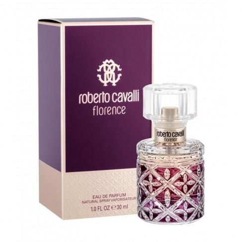 Roberto Cavalli Florence е женски парфюм със съблазнителен плодово-цветен аромат, ориенталски нотки и чувствено ухание