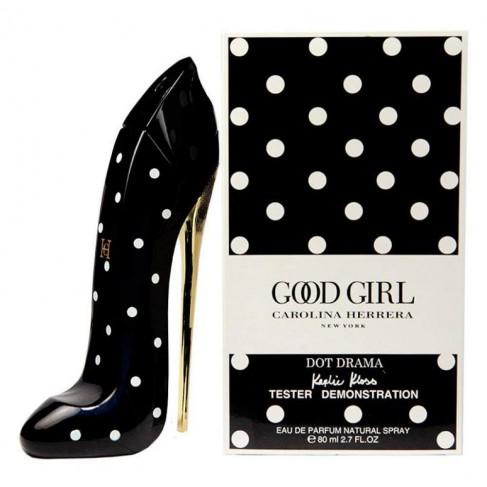 Carolina Herrera Good Girl Dot Drama е женски парфюм със съблазнителен и чувствен, ориенталски цветен аромат с плодови нотки