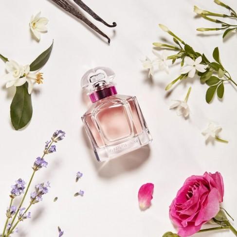 Guerlain Mon Guerlain е женски парфюм с нежен, цветен ориенталски аромат и свежо, деликатно ухание - 2