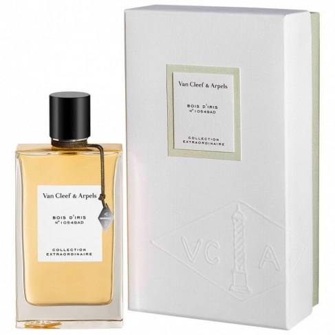 Van Cleef & Arpels Bois D`Iris е женски парфюм с чувствен ориенталски дървесен аромат с цветни нотки