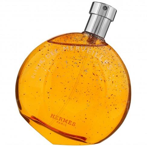 Hermes Elixir Des Merveilles е луксозен женски парфюм с чувствен и съблазнителен, ориенталски дървесен аромат с балсамови нотки