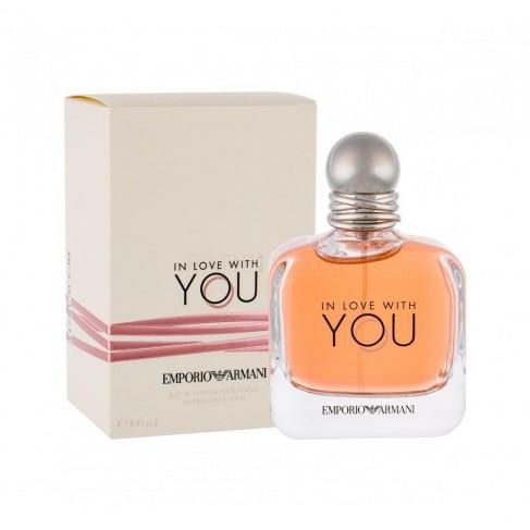 Armani In Love With You е женски парфюм с нежен и чувствен плодово-цветен аромат и деликатно ухание