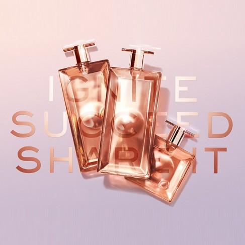 Lancome Idôle L'Intense е женски парфюм с наситен шипров цветен аромат и леки плодови тонове - 2