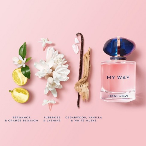 Armani My Way е женски парфюм със свеж и елегантен цветен аромат, с дървесни и мускусни нотки - 2