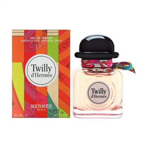 Hermès Twilly d'Hermès е женски парфюм със свеж, закачлив и весел цветен аромат, с леко пикантни и плодови нотки