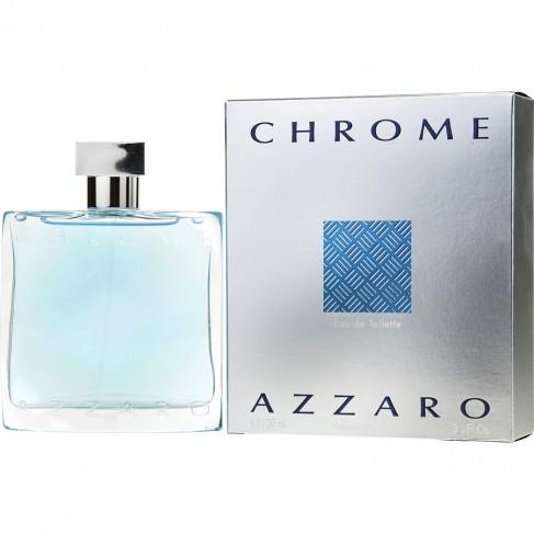 Azzaro Chrome е мъжки парфюм със свеж и чувствен, плодово-цветен аромат с ориенталска основа