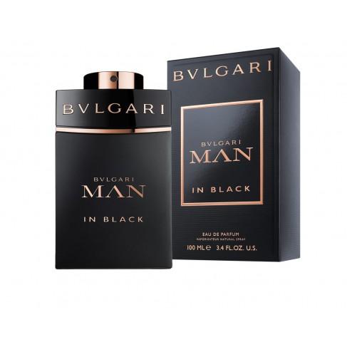 Bvlgari Man in Black е луксозен мъжки парфюм с наситен и дързък, ориенталски цветен аромат с пикантни нотки - 1