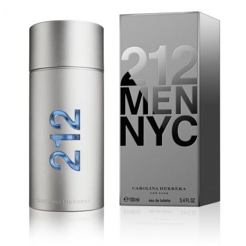 Carolina Herrera 212 Man е мъжки парфюм със свеж и завладяващ, плодово-цветен аромат с пикантни нотки и подправки