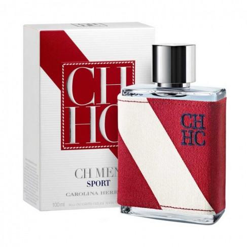 Carolina Herrera CH Men Sport е мъжки парфюм със свеж и тонизиращ, пикантен дървесен аромат с плодови нотки