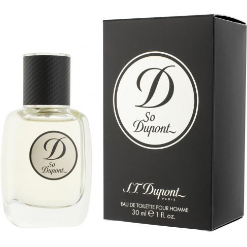 S.T.Dupont So Dupont е мъжки парфюм с чувствен, свеж и изискан дървесно-пикантен аромат с плодови нотки