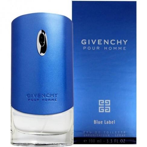 Givenchy Blue Label Pour Homme е мъжки парфюм със свеж дървесно-ориенталски аромат, цитруси и пикантни подправки