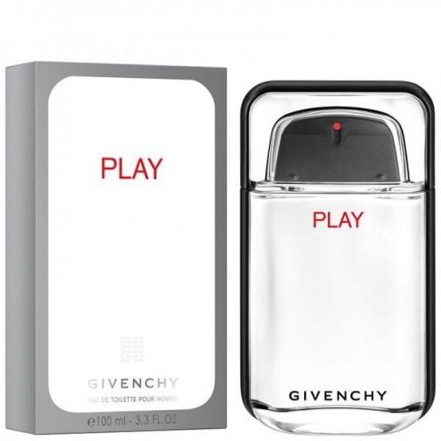 Givenchy Play е мъжки парфюм с енергизиращ и свеж плодов аромат, пикантни нотки и зареждащо ухание