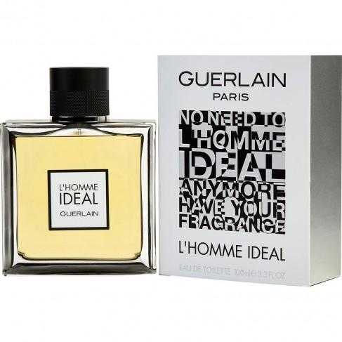 Guerlain L`Homme Ideal е мъжки парфюм с наситен и съблазнителен ориенталски аромат, подправки и цветно-плодови нотки