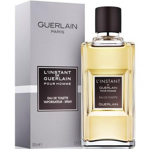 Guerlain L`Instant pour Homme е мъжки парфюм с чувствен дървесен аромат, плодови, цветни и пикантни нотки