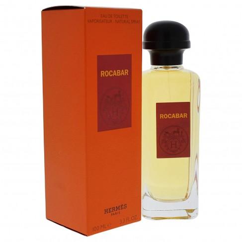 Hermes Rocabar е мъжки парфюм с чувствен дървесен аромат, пикантни, плодови нотки и много подправки