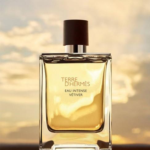 Hermes Terre D`Hermes е мъжки парфюм с наситен дървесен аромат, плодови нотки и изискано, мъжествено ухание - 2