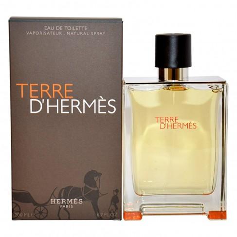 Hermes Terre D`Hermes е мъжки парфюм с наситен дървесен аромат, плодови нотки и изискано, мъжествено ухание - 1