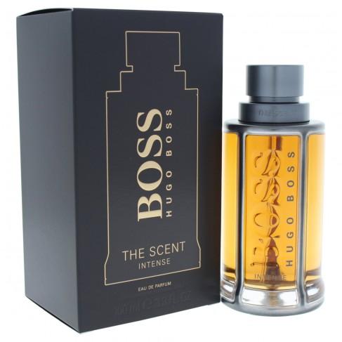 Hugo Boss The Scent Intense е луксозен мъжки парфюм с наситен и съблазнителен пикантен аромат, с дървесни нотки и подправки