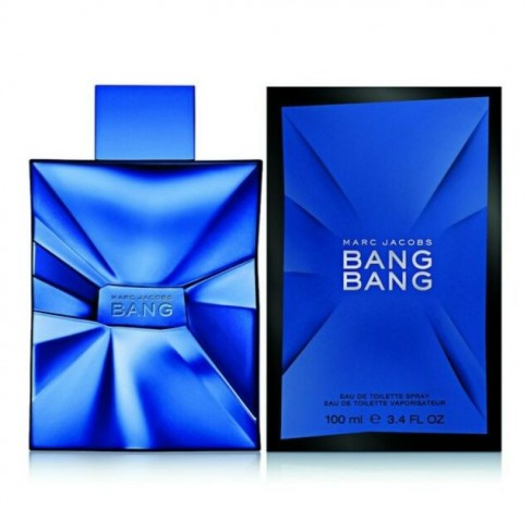 Marc Jacobs Bang Bang е мъжки парфюм със свеж и чувствен дървесно-мускусен аромат, с плодови нотки и подправки
