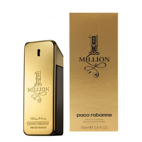 Paco Rabanne 1 Million е луксозен мъжки парфюм със свеж и съблазнителен дървесен аромат,  с пикантни и цитрусови нотки
