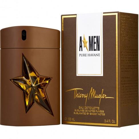 Thierry Mugler A*Men Pure Havane е мъжки парфюм с чувствен и изискан, ориенталски аромат с ухание на тютюн