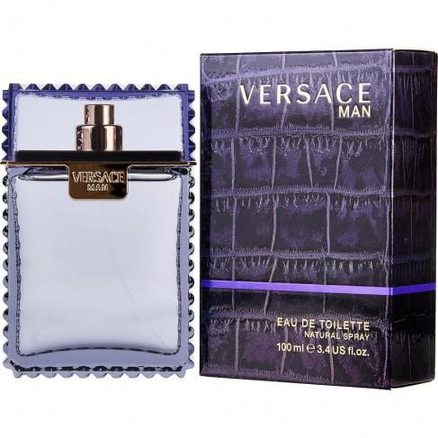 Versace Man е мъжки парфюм с чувствен и пикантен ориенталски аромат, плодови нотки и ухание на тютюн