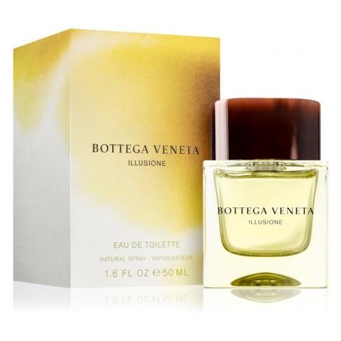 Bottega Veneta Illusione е мъжки парфюм със свеж и опияняващ, дървесен аромат с цитрусови нотки - 1